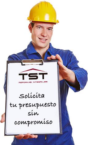 Pide presupuesto gratis y sin compromiso para tu reforma en TST Reformas Integrales Madrid